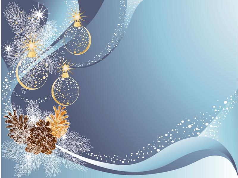Kerstkaarten Op Kerstkaarten Ovh Dennenappels Met Kerstballen